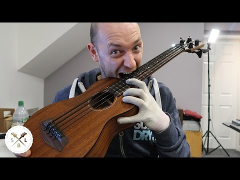 Kala U-Bass - first thoughts - and the weird slidey tuning thing?!