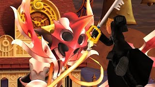 Kingdom Hearts 358/2 Days HD - NEW Additional Scene - Roxas VS Xion