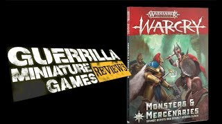 GMG Reviews - Age of Sigmar: Warcry - Monsters and Mercenaries