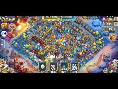 Rosaleen, Plant Warrior, Guild Wars, Glitch, Castle Clash Stream