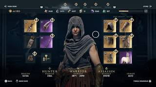 Assassin's Creed Odyssey - Gods of the Aegean Sea without naval combat: best stealth armor (pirate)