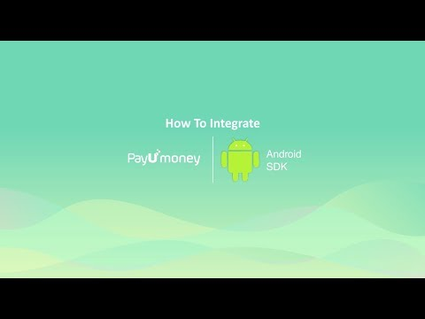 How to integrate PayUmoney SDK in android app - YouTube
