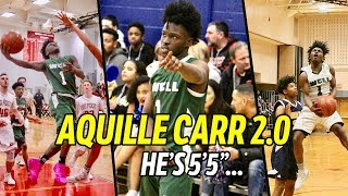 "Aquille Carr 2.0! Qwan Jackson Is 5'5"" But Got Defenders SHOOK! OFFICIAL Junior Year Mix 😱"