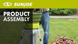 SDJ616L - How to Replace + Install Leaf Shredder Line | Sun Joe Leaf Shredder/Mullcher