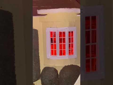 Ray Bradbury's Cheviot Hills house on fire