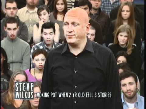 Smoking Pot When 2 Year Old Fell 3 Stories (The Steve Wilkos Show)