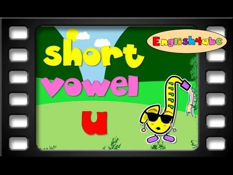 Short Vowel Letter u/English4abc/Phonics song