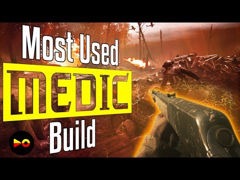 Battlefield 1: Most Used Medic Build (Top Medic Class Guns - M1907 SL Sweeper Tips and Tricks)