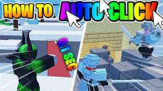 🛌 How to AЏTO CLICK in Roblox BedWars