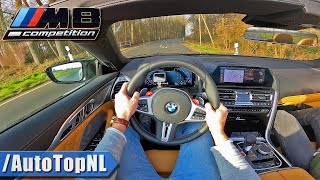 BMW M8 COMPETITION Convertible POV Test Drive by AutoTopNL
