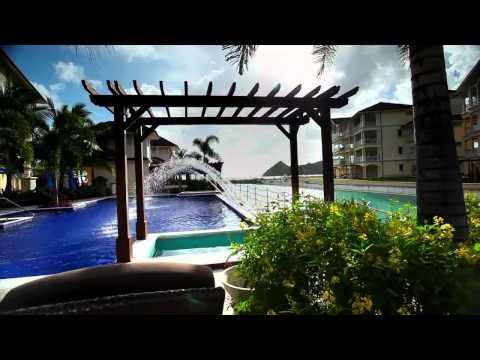 Luxury Caribbean Beach Resort - The Landings St. Lucia, A RockResort