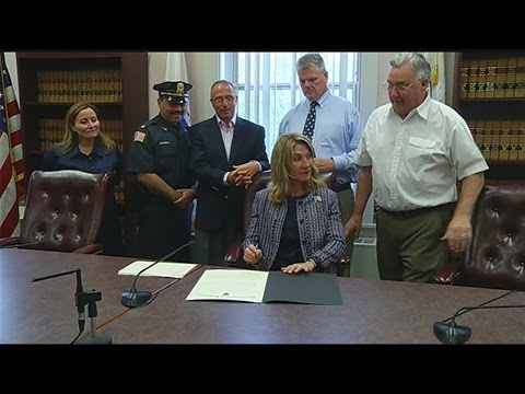 Lt. Governor signed a Community Compact with Ludlow