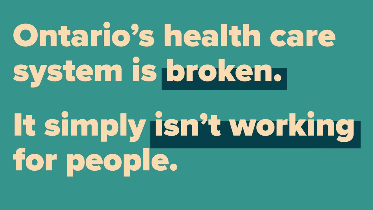 Improving health care in Ontario | Ontario ca