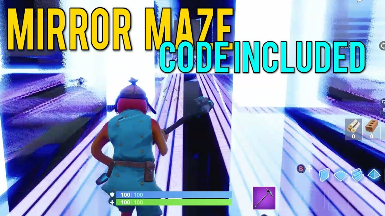 fortnite codes for creative maze