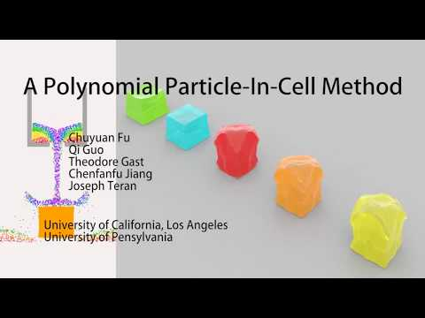 A Polynomial Particle-In-Cell Method