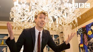 Sneaking inside the Apprentice house! - BBC