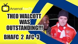 Theo Walcott Was Outstanding!!! - Brighton 2 Arsenal 3