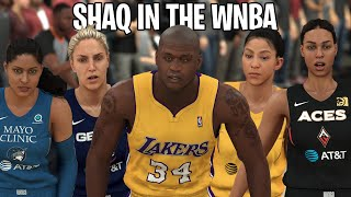 What If Shaquille O'Neal Played In The WNBA? NBA 2K20