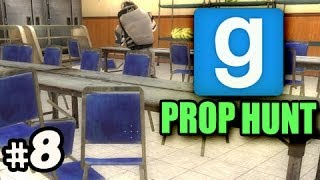 HIDING CHAIR IN CHAIRS - Gmod PROP HUNT w/Nova, Kevin & Immortal Ep.8