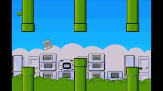 Frappy SNES (flappy bird clone) - Frappy SNES (flappy bird clone) (SNES / Super Nintendo) - High Score Run - User video