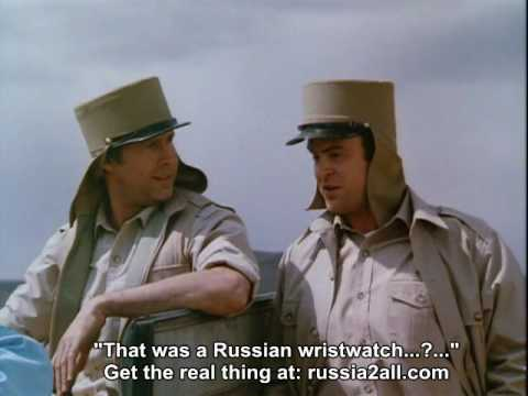 "Spies Like Us -- ""That Was A Russian Wristwatch"""