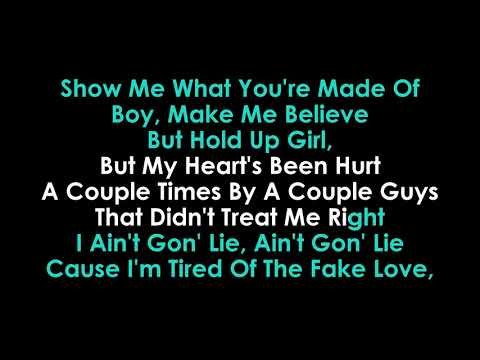 Meant to Be Karaoke Bebe Rexha & Florida Georgia Line