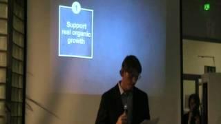 Aaltoes Talk with Niklas Zennström