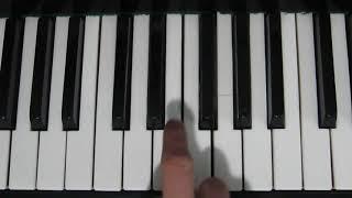 Как играть | Сплин - Моё сердце на пианино | подробный разбор |