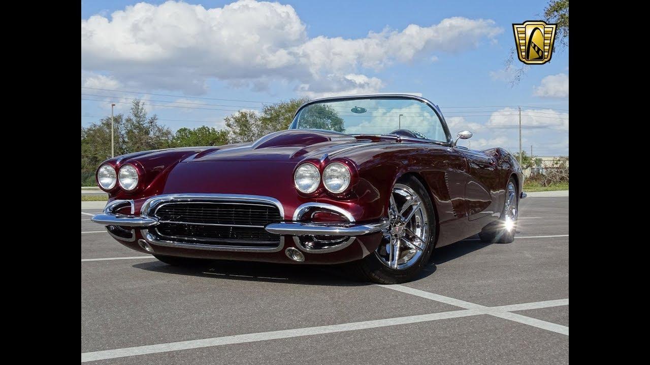 Chevrolet Corvette For Sale >> 1962 Chevrolet Corvette RestoMod Gateway Orlando #1065 ...