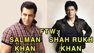 For The Win: Salman Khan vs Shah Rukh Khan