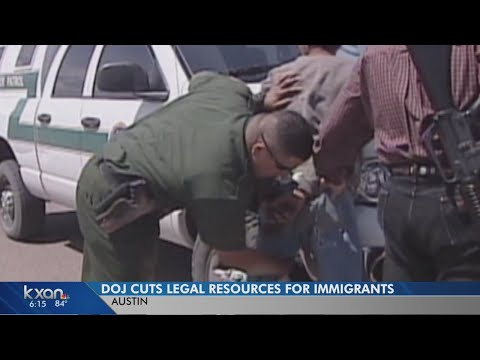 DOJ freezes money for immigrant legal aid and resources