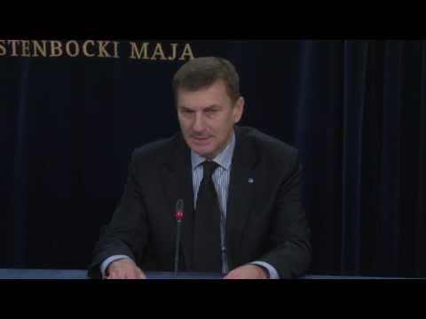 Peaminister kommenteerimas olukorda Ukrainas