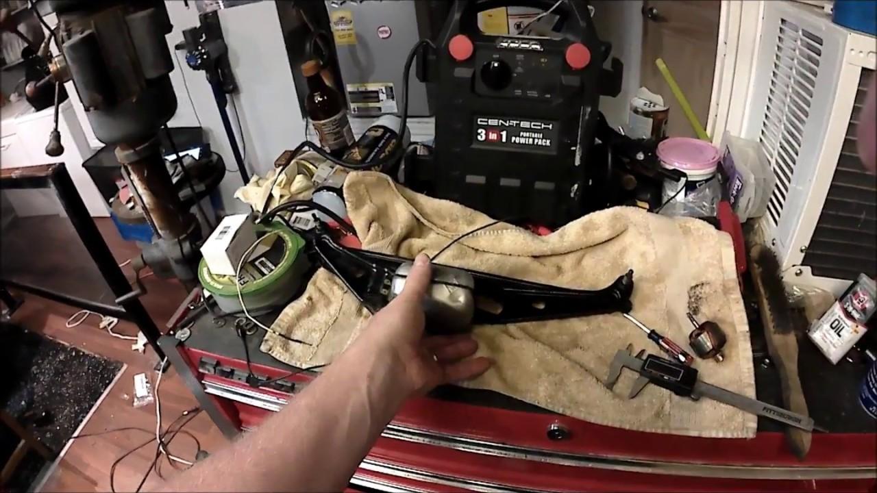 how to convert a 6 volt wiper motor to 12 volt