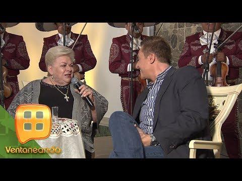 Paquita la del Barrio canta junto a Daniel Bisogno | Ventaneando