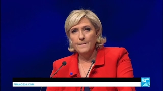 France Presidential Race  is National Front leader Marine Le Pen's popularity waning?