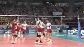 ワールドリーグ 2008 日本vsポーランド 第3セット