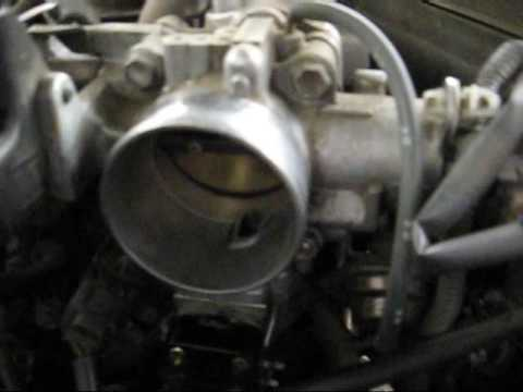 Camry Idle Air Control Valve Cleaning - YouTube