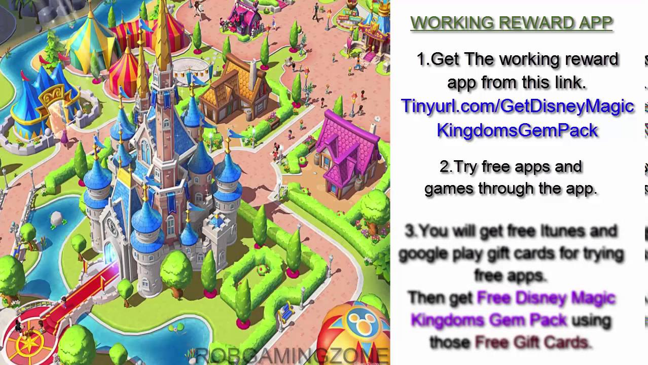 <b>Disney Magic</b> Kingdoms - <b>Tips</b> - Tricks - Strategies - Get Gem Pack ...