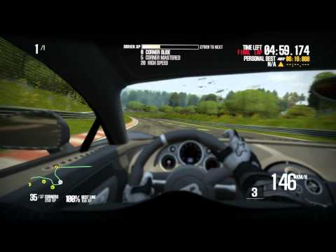 NFS Shift 2 Unleashed: Works Bugatti Veyron Supersport 16.4 Hot Lap on Nordschleife (5:52:370) [HD]