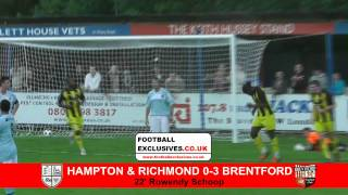 Pre-Season Highlights - Hampton and Richmond Borough 0-5 Brentford