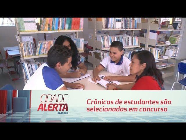 Crônicas de estudantes da rede pública são selecionadas em concurso
