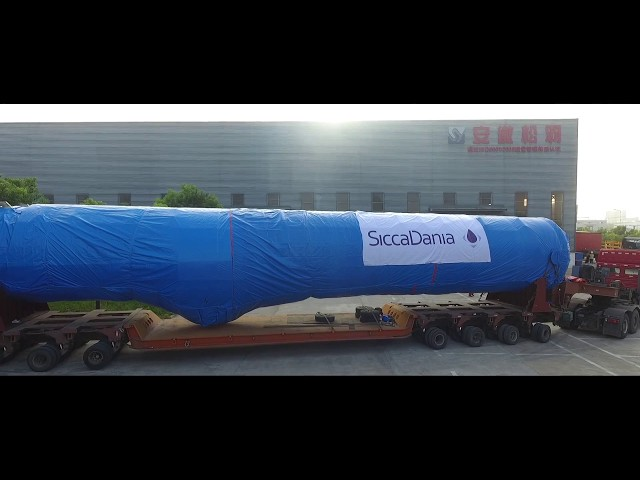 MVR Evaporator transportation