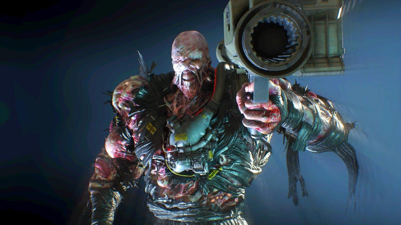 Nemesis Rocket Launcher Death Resident Evil 3 Youtube