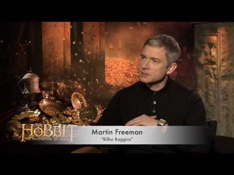 The Hobbit: The Desolation of Smaug interviews & Review-Freeman, Cumberbatch, Evans, Armitage, Lilly