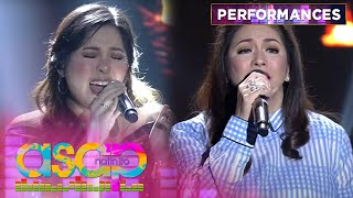 Regine Velasquez and Moira Dela Torre perform the hits of UDD |  Asap Natin 'To