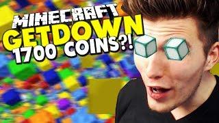 1700 COINS? - BRECHEN WIR DEN REKORD? ✪ Minecraft GETDOWN