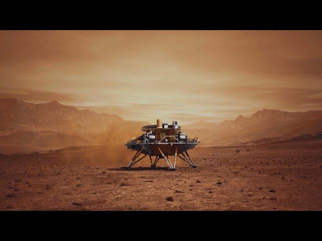 China's probe lands on Mars