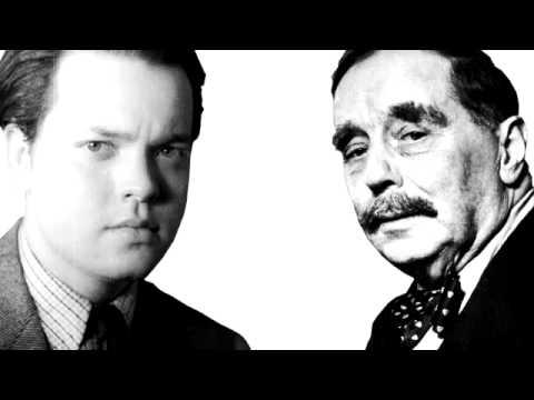 H.G. Wells and Orson Welles interview. Radio KTSA San Antonio on October 28, 1940