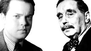 H.G. Wells and Orson Welles interview. Radio KTSA San Antonio on October 28, 1940