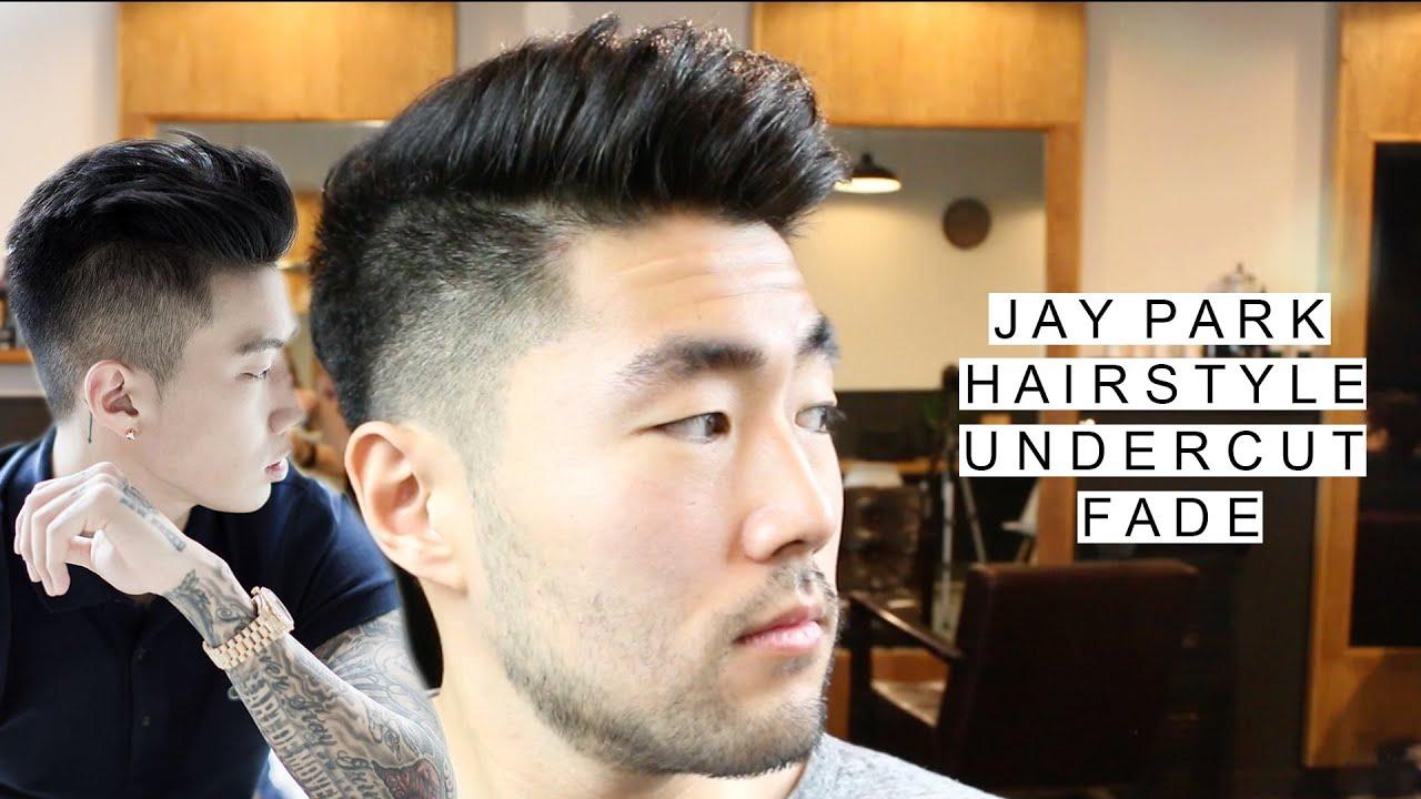 Jay Park Inspired Undercut w Fade